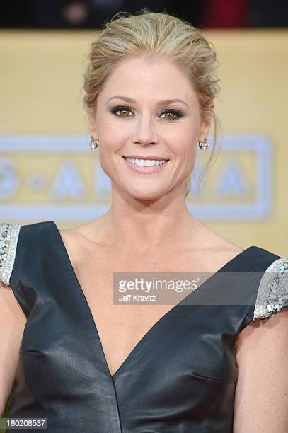 Actress Julie Bowen arrives at the 19th Annual Screen Actors Guild Awards held at The Shrine Auditorium on January 27 2013 in Los Angeles California