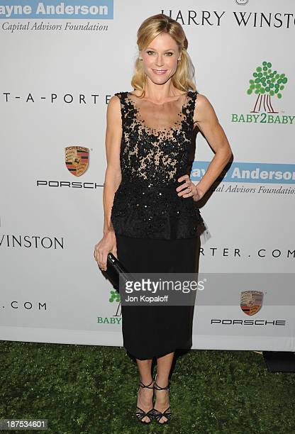 Actress Julie Bowen arrives at the 2nd Annual Baby2Baby Gala at The Book Bindery on November 9 2013 in Culver City California