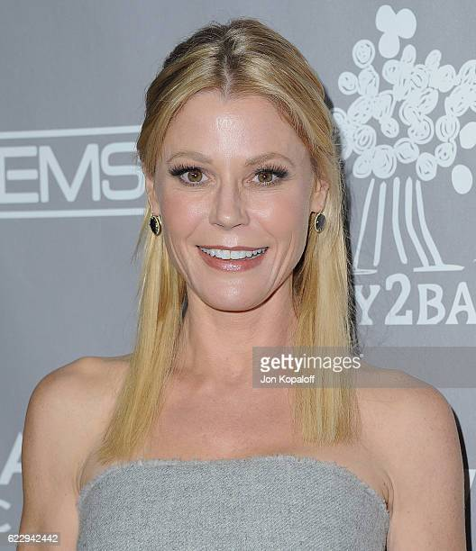 Actress Julie Bowen arrives at the 5th Annual Baby2Baby Gala at 3LABS on November 12 2016 in Culver City California