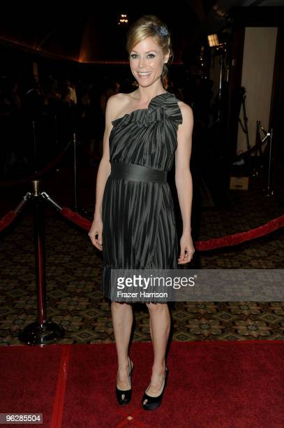 Actress Julie Bowen arrives at the 62nd Annual Directors Guild Of America Awards at the Hyatt Regency Century Plaza on January 30 2010 in Century...