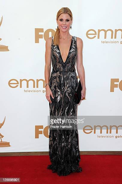 Actress Julie Bowen arrives at the 63rd Annual Primetime Emmy Awards held at Nokia Theatre LA LIVE on September 18 2011 in Los Angeles California