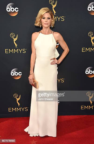 Actress Julie Bowen arrives at the 68th Annual Primetime Emmy Awards at Microsoft Theater on September 18 2016 in Los Angeles California