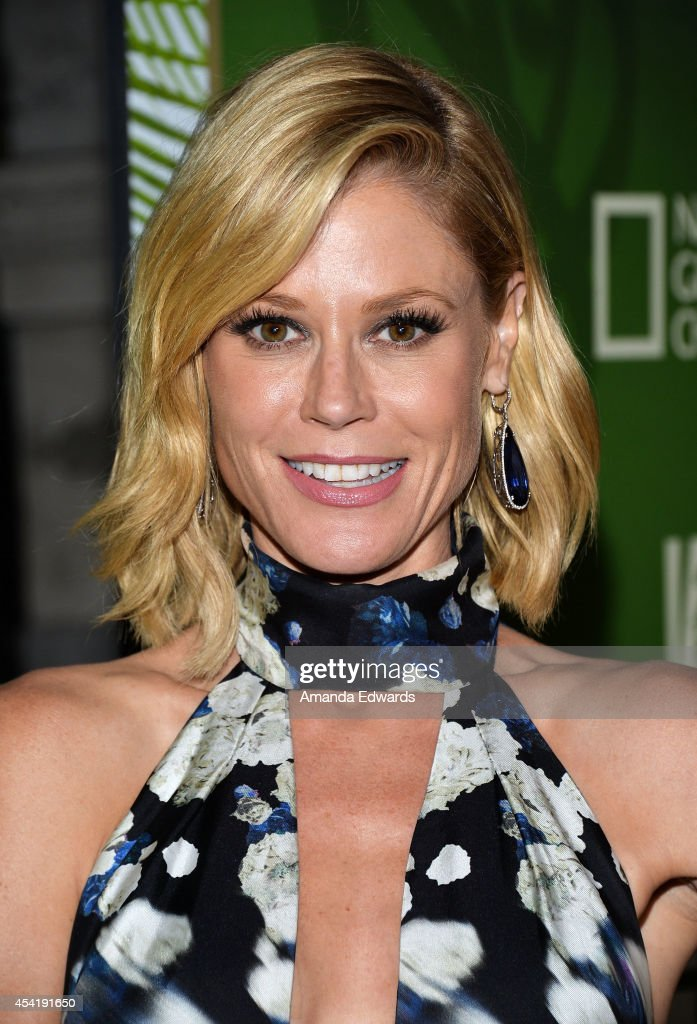 Actress Julie Bowen arrives at the FOX, 20th Century FOX Television, FX Networks and National Geographic Channel's 2014 Emmy Award Nominee Celebration at Vibiana on August 25, 2014 in Los Angeles, California.