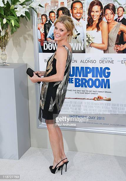 Actress Julie Bowen arrives at the 'Jumping The Broom' Los Angeles premiere at ArcLight Cinemas Cinerama Dome on May 4 2011 in Hollywood California