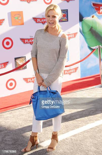 Actress Julie Bowen arrives at the Los Angeles premiere of Planes at the El Capitan Theatre on August 5 2013 in Hollywood California