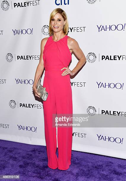 Actress Julie Bowen arrives at The Paley Center For Media's 32nd Annual PALEYFEST LA 'Modern Family' event at the Dolby Theatre on March 14 2015 in...