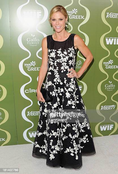 Actress Julie Bowen arrives at the Variety And Women In Film Pre-Emmy Party at Scarpetta on September 20, 2013 in Beverly Hills, California.