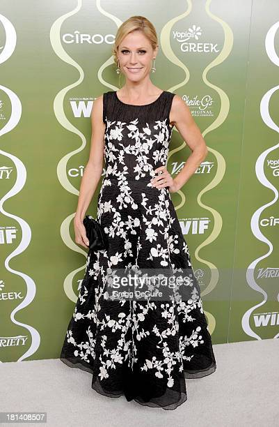 Actress Julie Bowen arrives at the Variety and Women In Film PreEmmy Party at Scarpetta on September 20 2013 in Beverly Hills California