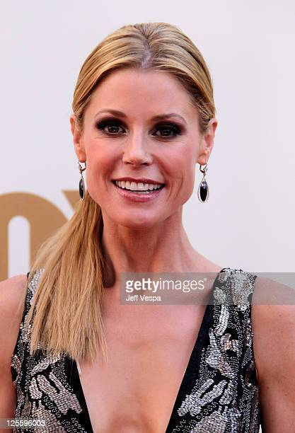Actress Julie Bowen arrives to the 63rd Primetime Emmy Awards at the Nokia Theatre LA Live on September 18 2011 in Los Angeles United States