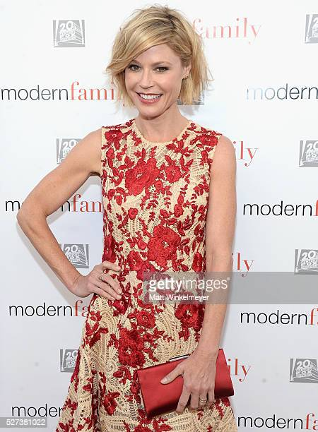 Actress Julie Bowen attends ABC's 'Modern Family' ATAS Emmy Event at Fox Studios on May 2 2016 in Los Angeles California