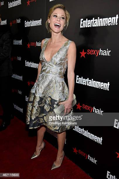 Actress Julie Bowen attends Entertainment Weekly's celebration honoring the 2015 SAG awards nominees at Chateau Marmont on January 24 2015 in Los...