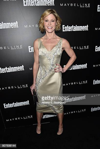Actress Julie Bowen attends Entertainment Weekly's celebration honoring THe Screen Actors Guild presented by Maybeline at Chateau Marmont on January...