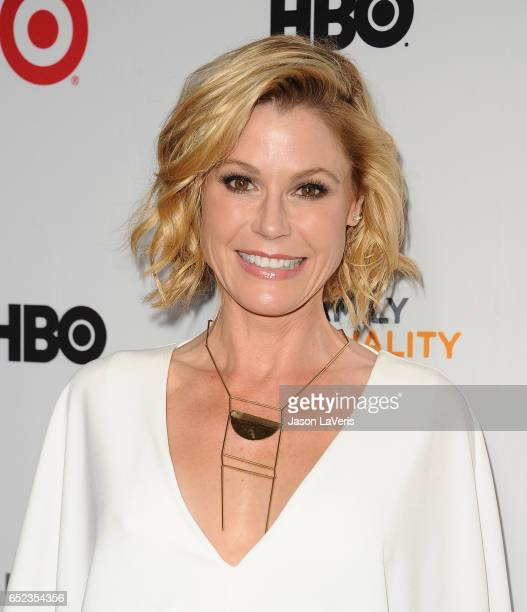 Actress Julie Bowen attends Family Equality Council's annual Impact Awards at the Beverly Wilshire Four Seasons Hotel on March 11, 2017 in Beverly...