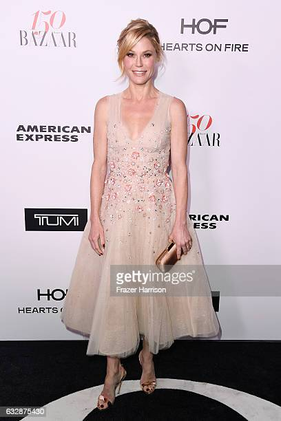 Actress Julie Bowen attends Harper's BAZAAR celebration of the 150 Most Fashionable Women presented by TUMI in partnership with American Express La...