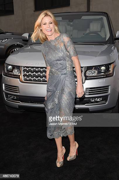 Actress Julie Bowen attends PS ARTS Presents LA Modernism Opening Night at 3LABS on April 25 2014 in Culver City California