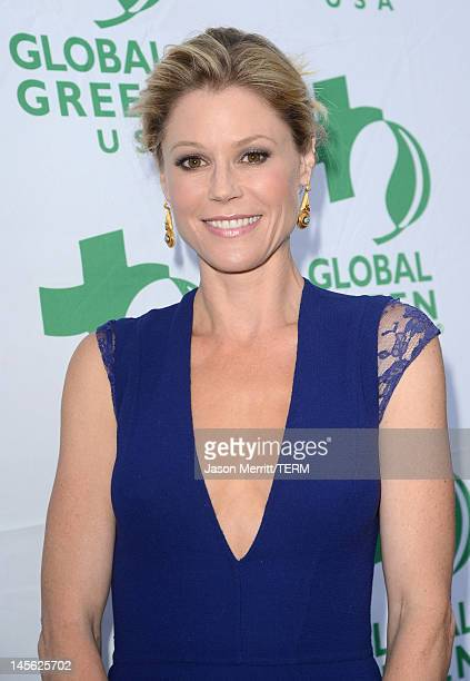 Actress Julie Bowen attends the 16th Annual Global Green USA Millennium Awards held at Fairmont Miramar Hotel on June 2 2012 in Santa Monica...