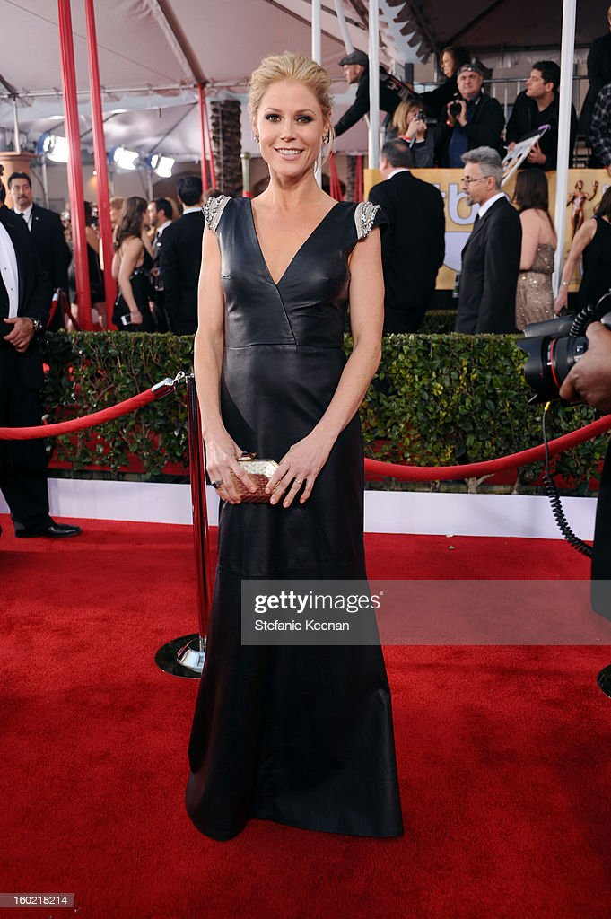 Actress Julie Bowen attends the 19th Annual Screen Actors Guild Awards at The Shrine Auditorium on January 27, 2013 in Los Angeles, California. (Photo by Stefanie Keenan/WireImage) 23116_025_1497.jpg