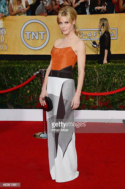 Actress Julie Bowen attends the 20th Annual Screen Actors Guild Awards at The Shrine Auditorium on January 18 2014 in Los Angeles California