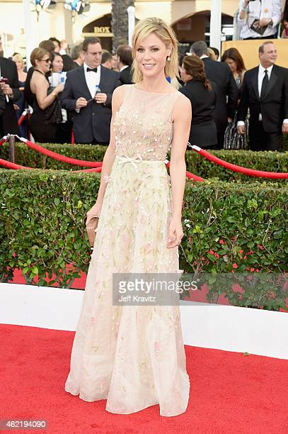 Actress Julie Bowen attends the 21st Annual Screen Actors Guild Awards at The Shrine Auditorium on January 25 2015 in Los Angeles California