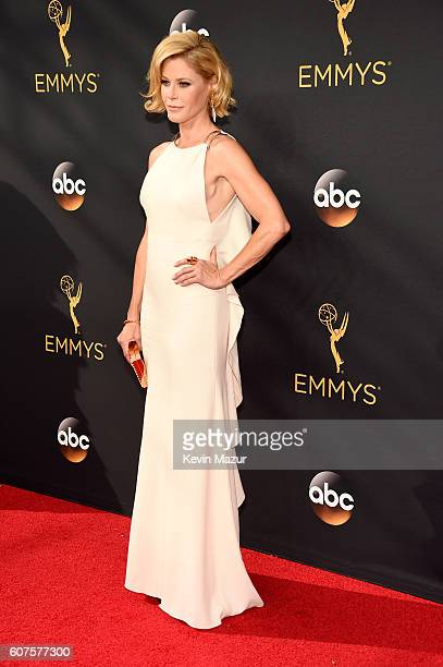 Actress Julie Bowen attends the 68th Annual Primetime Emmy Awards at Microsoft Theater on September 18 2016 in Los Angeles California