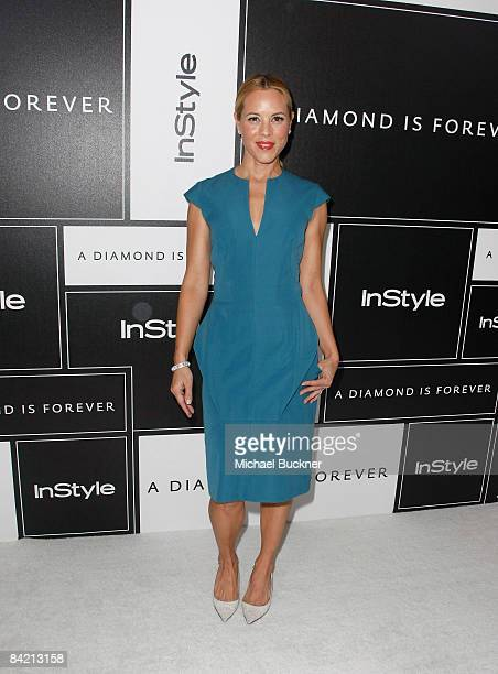 Actress Julie Bowen attends the 8th Annual Awards Season Diamond Fashion Show Preview hosted by the Diamond Information Center and InStyle held at...