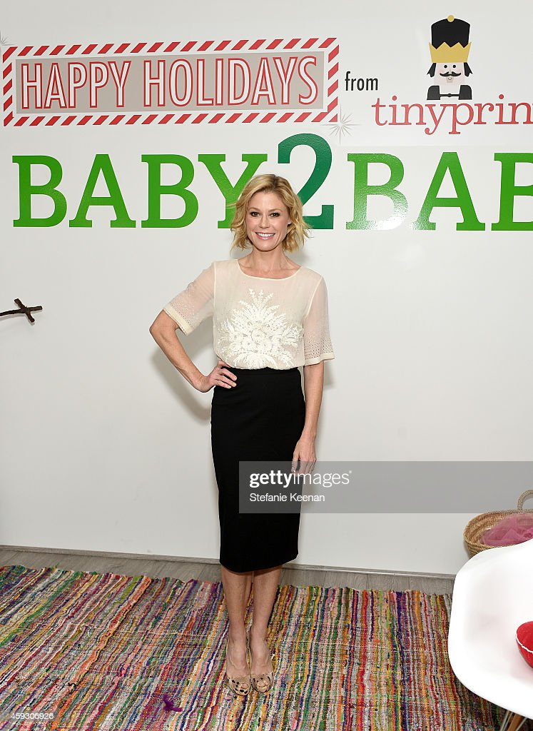 Actress Julie Bowen attends the Baby2Baby Nutcracker Party, Presented By Tiny Prints on November 20, 2014 in Los Angeles, California.