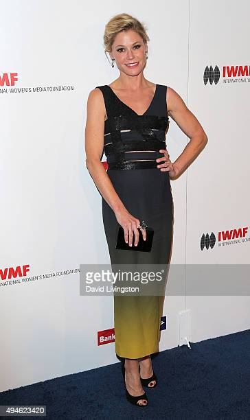 Actress Julie Bowen attends the International Women's Media Foundation Courage Awards at the Beverly Wilshire Four Seasons Hotel on October 27 2015...
