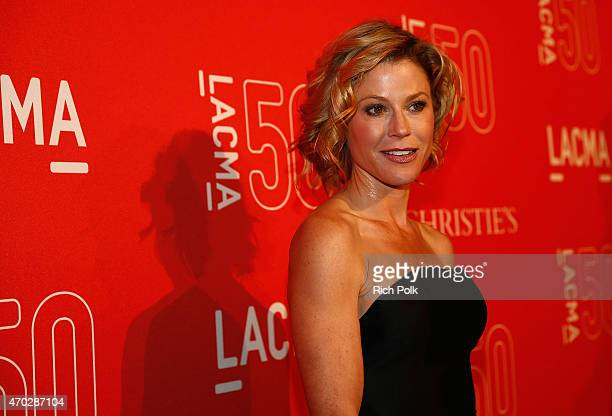 Actress Julie Bowen attends the LACMA 50th Anniversary Gala sponsored by Christie's at LACMA on April 18, 2015 in Los Angeles, California.