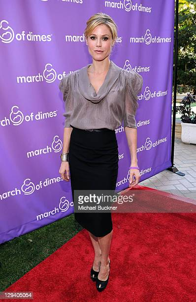 Actress Julie Bowen attends the March of Dimes Foundation Samantha Harris Host 5th Annual Celebration of Babies Luncheon held at the Four Season...