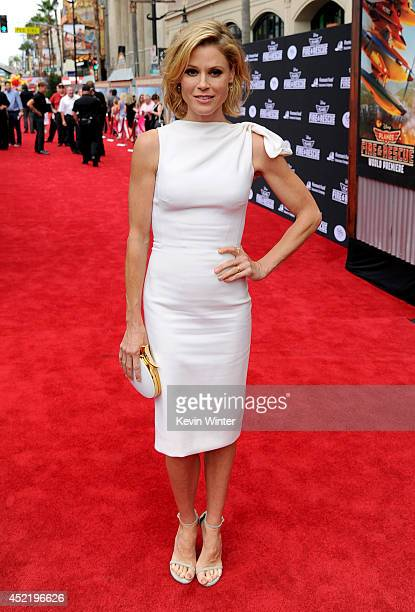 Actress Julie Bowen attends the premiere of Disney's 'Planes Fire Rescue' at the El Capitan Theatre on July 15 2014 in Hollywood California