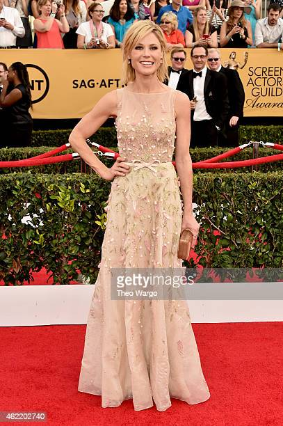 Actress Julie Bowen attends TNT's 21st Annual Screen Actors Guild Awards at The Shrine Auditorium on January 25 2015 in Los Angeles California...