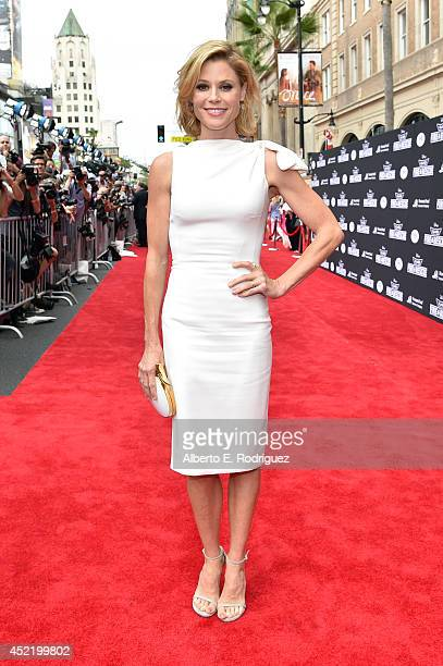 Actress Julie Bowen attends World Premiere Of Disney's Planes Fire Rescue at the El Capitan Theatre on July 15 2014 in Hollywood California