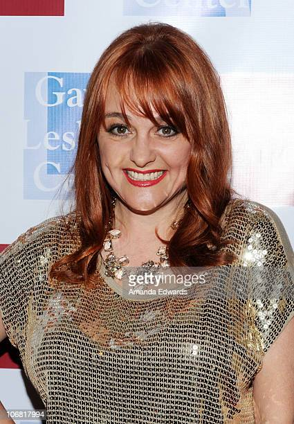 Actress Julie Brown arrives at the LA Gay Lesbian Center's 39th anniversary gala auction on November 13 2010 in Century City California
