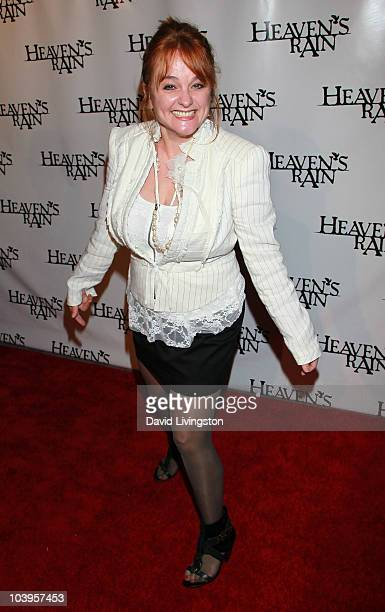 Actress Julie Brown attends the premiere of Heaven's Rain at ArcLight Cinemas on September 9 2010 in Hollywood California
