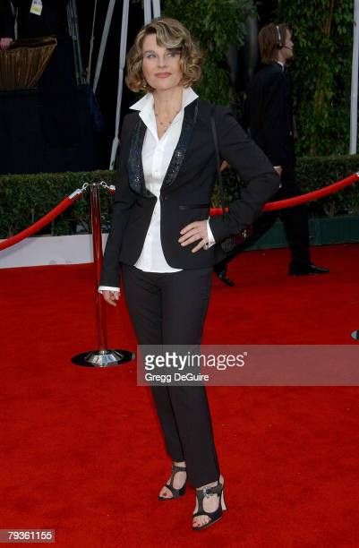 Actress Julie Christie arrives at the 14th Annual Screen Actors Guild Awards at the Shrine Auditorium on January 27 2008 in Los Angeles California