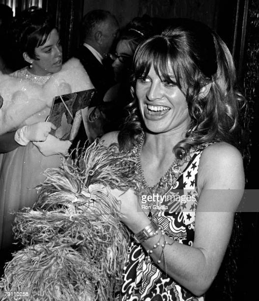 Actress Julie Christie attending the premiere of 'Far From The Maddening Crowd' on October 18 1967 at Loew's Capitol Theater in New York City New York