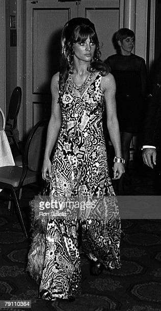 Actress Julie Christie attending the premiere of Far From The Maddening Crowd on October 18 1967 at Loew's Capitol Theater in New York City New York