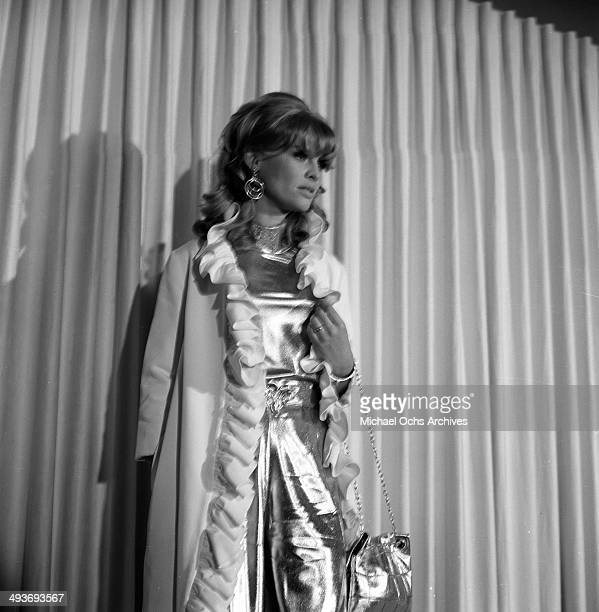 Actress Julie Christie attends a party in Los Angeles California