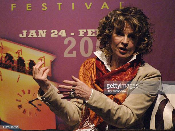 Actress Julie Christie during the 2008 Santa Barbara Film Festival Tribute to Julie Christie held at the Lobero on January 25 2008 in Santa Barbara...