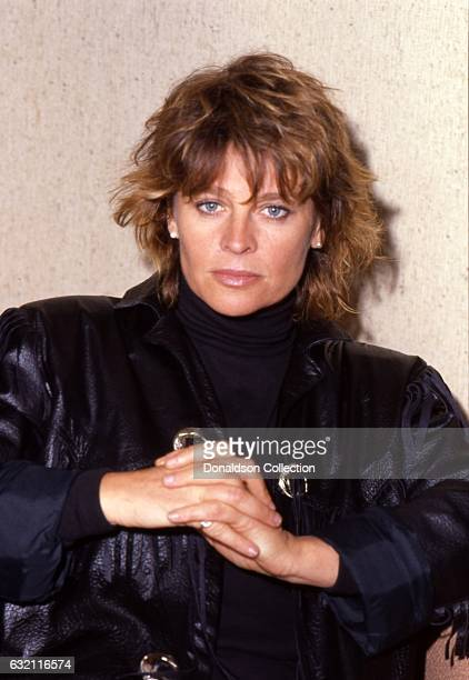 Actress Julie Christie poses for a portrait in c1985 in Los Angeles California