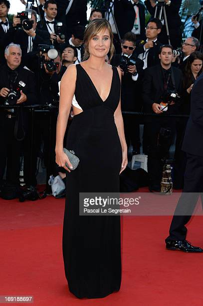 Actress Julie De Bona attends the 'Behind The Candelabra' premiere during The 66th Annual Cannes Film Festival at Theatre Lumiere on May 21 2013 in...