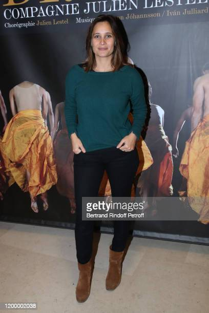 "Actress Julie de Bona attends the Exceptional performance of ""Dream - Compagnie Julien Lestel"" at Salle Pleyel on January 16, 2020 in Paris, France."