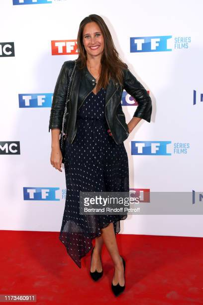 Actress Julie de Bona attends the Groupe TF1 Photocall at Palais de Tokyo on September 09 2019 in Paris France