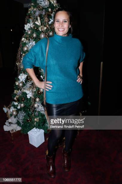 Actress Julie de Bona attends the Inauguration of the Chalet Les Neiges Courchevel on the terrace of the Hotel Barriere Le Fouquet's Paris on...