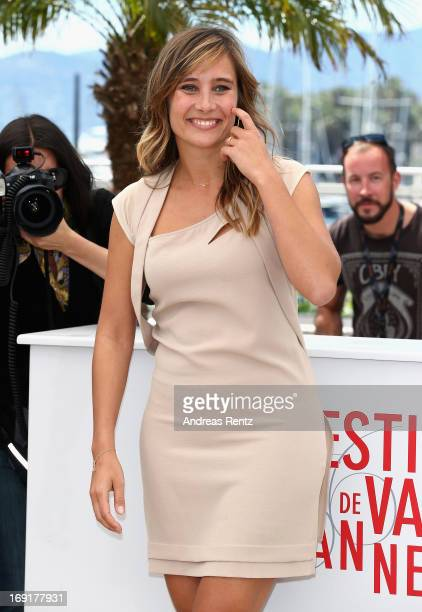 Actress Julie De Bona attends the 'Ne Quelque Part' Photocall during The 66th Annual Cannes Film Festival at the Palais des Festivals on May 21, 2013...