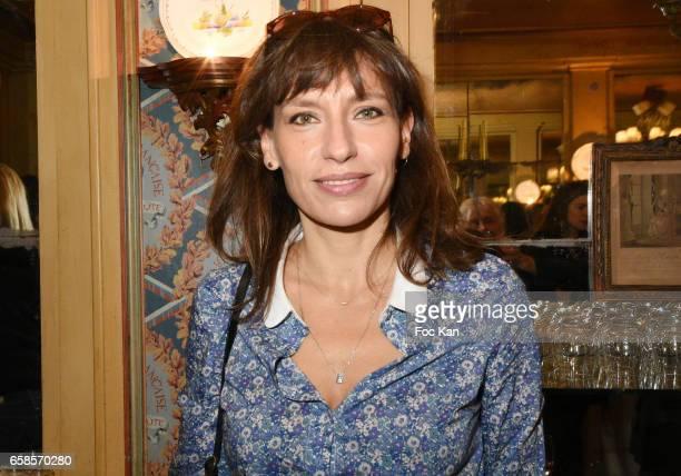 Actress Julie Debazac attends 'Journees du Livre et du Vin 2017' Jury Deliberation Lunch at Le Procope on March 27, 2017 in Paris, France.