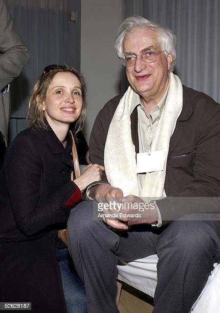Actress Julie Delpy and Director Bertrand Tavernier attend the post screening party for the 9th Annual City of Lights City of Angels Film Festival...