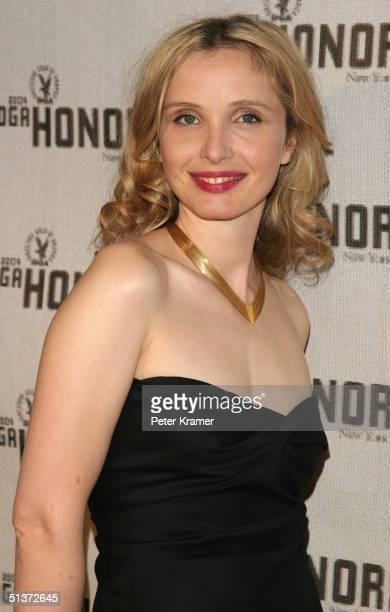 Actress Julie Delpy arrives at the 5th Annual Directors Guild Of America Honors at the Waldorf Astoria Hotel September 29 2004 in New York City