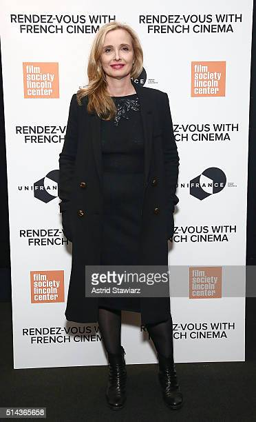 """Actress Julie Delpy attends 2016 Rendez-Vous With French Cinema - """"Lolo"""" at Furman Gallery on March 8, 2016 in New York City."""