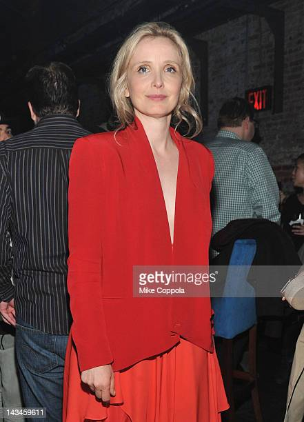 Actress Julie Delpy attends the 2 Days In New York After Party hosted by Bombay Sapphire on April 26 2012 in New York City